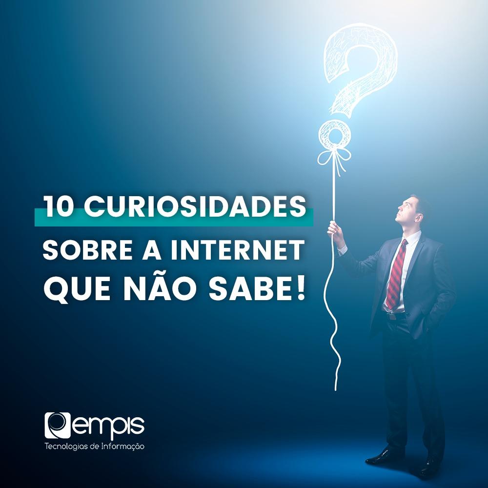 curiosidades sobre a internet